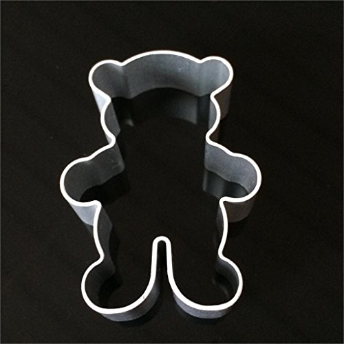 3Pcs/Specialized Metal Alloy Cake Cookie Bakeware Mould Fondant Cookie Cutters Biscuit Mold Kitchen Diy Little Bear (Name Plate Cookie Cutter compare prices)
