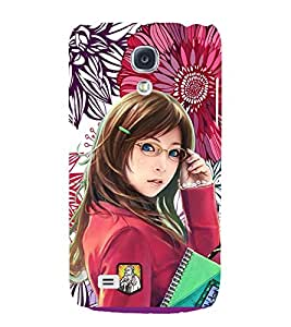 PRINTSWAG COLLEGE GIRL Designer Back Cover Case for SAMSUNG GALAXY S4