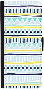 Snoogg Tribal Thorn Designer Protective Phone Flip Case Cover For Samsung Galaxy E5