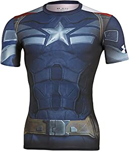 Under Armour Men's Captain America Compression Shirt