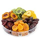 Tropical Dried Fruit Gift Tray 6 - Section - Oh! Nuts