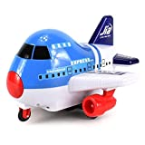 International Airbus Express Electric RC Airplane Car Ready To Run RTR W/ Colorful Lights, 360 Degre
