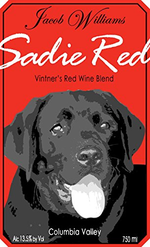 "Nv Jacob Williams Winery ""Sadie Red"" Blend 750 Ml"