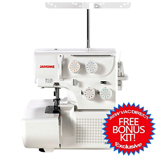 Best Price! Janome 8002D Serger Includes Bonus Accessories