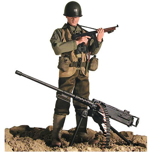 Picture of Blue Box Elite Force - WWII U.S. Army Ranger #000285 Figure (B000OIIN8Y) (Blue Box Action Figures)