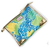 Estee Lauder Lilly Pulitzer Designer Beauty Makeup Cosmetic Bag (Large Size) - Limited Edition