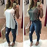 New Fashion Women Summer Hollow Out T Shirt Dress White Plus Size Women Clothing Loose Sexy Club Dress High Low Fashion Dresses