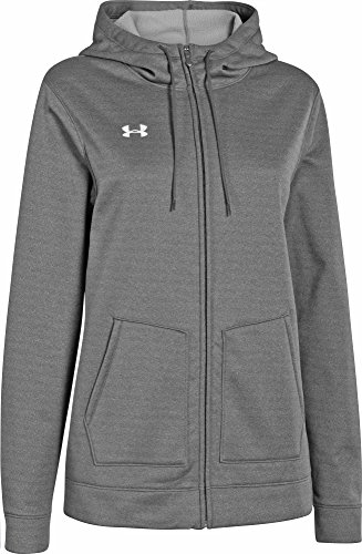 Under Armour Women's UA Storm Armour® Fleece Hoodie (Carbon Heather, X-Large)