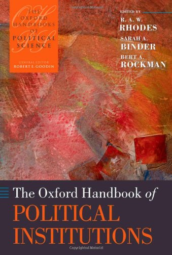 The Oxford Handbook of Political Institutions (Oxford Handbooks) PDF