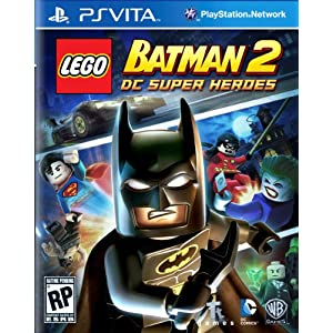 LEGO Batman 2 DC Super Heroes PS Vita Video Game