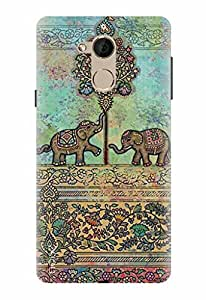Noise Designer Printed Case / Cover for Coolpad Note 5 / Nature / Elephant Design
