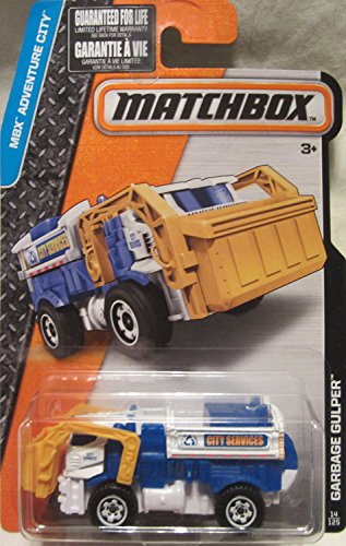 2016 Matchbox MBX Adventure City Garbage Gulper 14/125 - 1