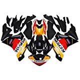 Sportfairings Injection Full Fairing Kits For Honda CBR250RR Year 2011   2014 11 12 13 14 ABS Plastic Repsol Yellow Black