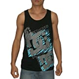 DC Mens Crew Neck Surf & Skate Sleeveless Shirt / Vest - Black
