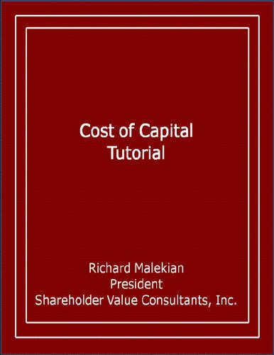 Cost of Capital Tutorial