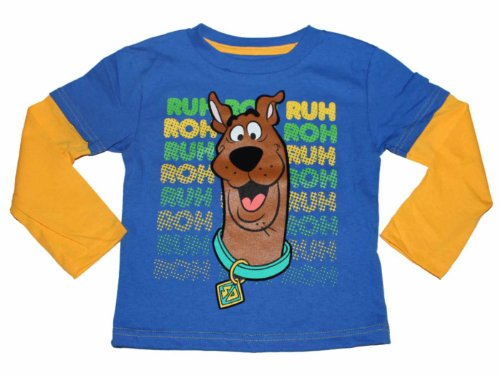 Scooby Doo Little Boys Long Sleeve Shirt (2T-4T) (4T) front-562963