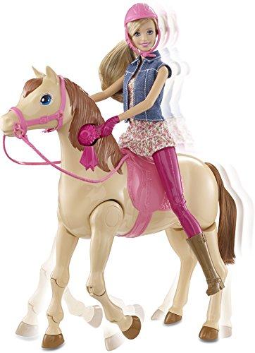 Mattel-Barbie-CMP27-Reitpferd-und-Puppe