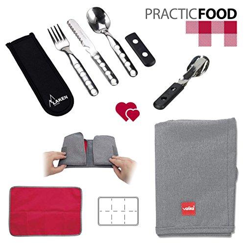 practicfood-set-de-cubiertos-laken-en-acero-inoxidable-y-mantel-plegable-valira-nomad-placemat-anti-