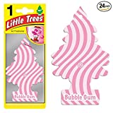 Little Trees® Car Air Fresheners Bubble Gum Scent (24 Pack)