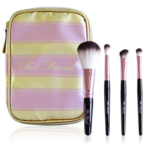 Too Faced Cosmetics Mini Brush Set, 5.4 Ounce