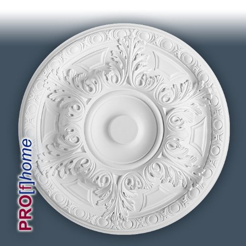 ORAC R18 Ceiling Rose Rosette Medallion Centre high quality polyurethane classic leaf design | 49cm = 19 inch diameter