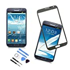 Grey Original Replace Screen Outer Glass Lens for Samsung Galaxy Note 2 N7100