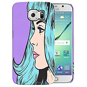 Theskinmantra Girl stares back cover for Samsung Galaxy S6