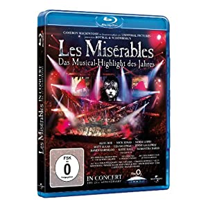 Les Miserables - 25th Anniversary Concert [Blu-ray]
