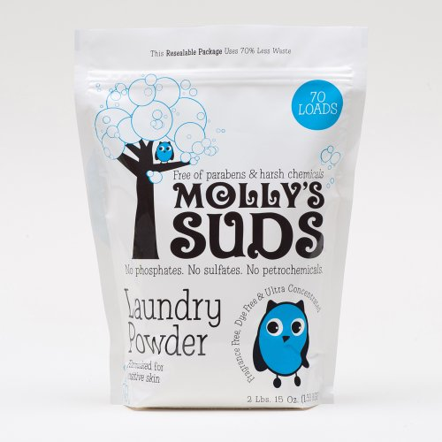 Molly'S Suds Natural Laundry Powder, 70 Loads, 2Lbs. 15Oz. (1.33 Kgs)