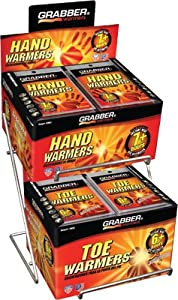 Grabber Hand and Toe Warmer Counter Top Display ADRACK by Grabber