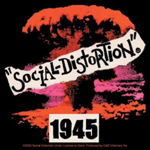 Licenses Products Social Distortion 1945 Sticker