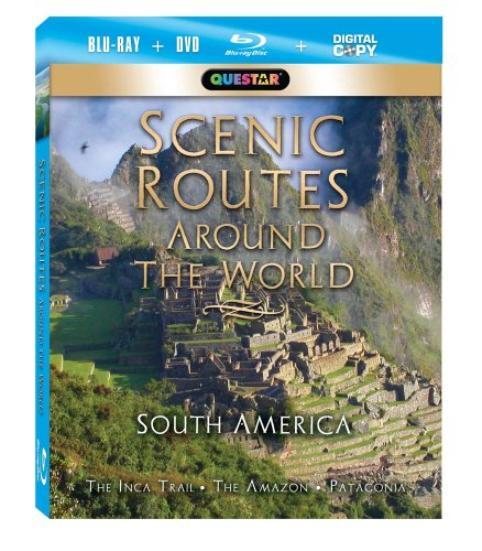 Scenic Routes Around the World: South America [Blu-ray Combo Pack: Blu-ray, DVD & Digital Copy]