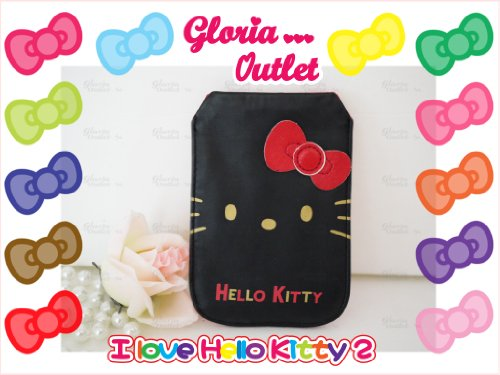 Hello Kitty Mobile Iphone Black Case Holder Sanrio Iphone 3 3S 4 4S 5 5S Iphone