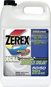 1 Gallon 50/50 Prediluted Ready To Use Antifreeze Coolant ZXRU1 [Set of 6]