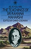 Be As You Are: The Teachings of Sri Ramana Maharshi (Arkana)