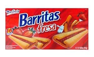 Amazon.com : Marinela Barritas de Fresa - Strawberry Bars 11.22 Oz