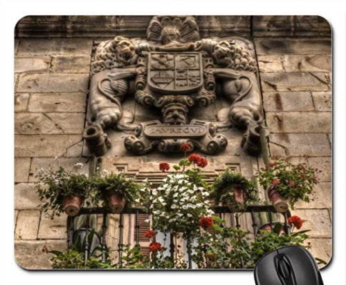 wonderful-relief-above-a-window-in-basque-country-Mouse-PadMouse-Mat-Mousepad
