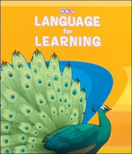 Language for Learning - Language Activity Masters Book 1 (Cursive Writing)