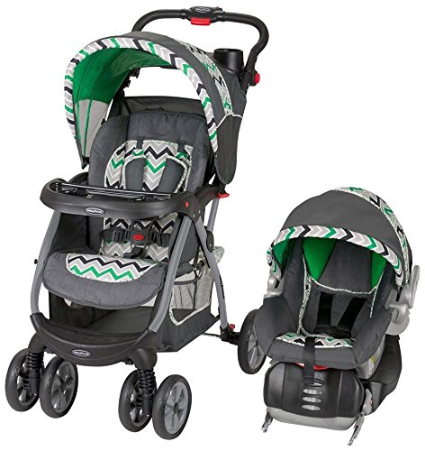 03367ade53a0 Find Best Price Baby Trend Encore Travel System Stone Green Review ...
