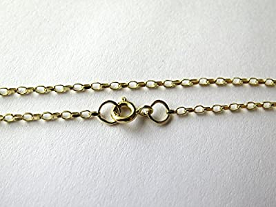 9ct Yellow Gold Oval Diamond Cut Belcher Bracelet 19cm