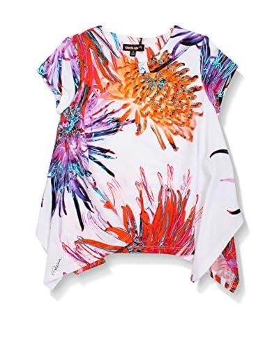 Roberto Cavalli T-Shirt Manica Corta [Multicolore]