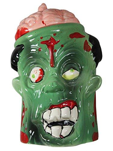 Zombie Cookie Jar Green