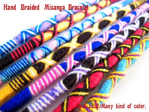 3 book set round crochet bracelets アミーゴブレス one-size-fits-all bracelet anklet 3-5642.