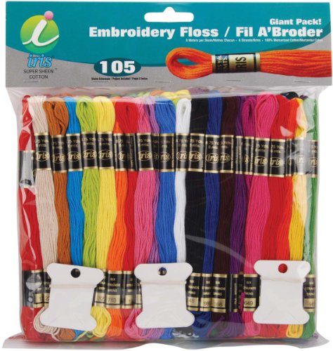 Cotton Embroidery Floss - 105 Skeins