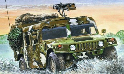 Italeri 0249S - Modellino macchina da guerra Hummer M998 HMMWV in scala 1:35