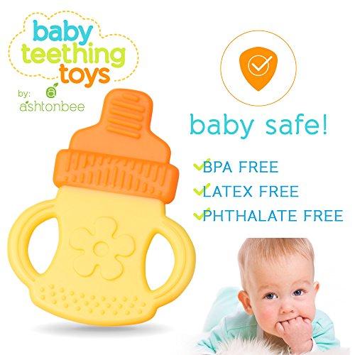 Safe Baby Toys : Baby teething toys bpa free natural organic freezer safe