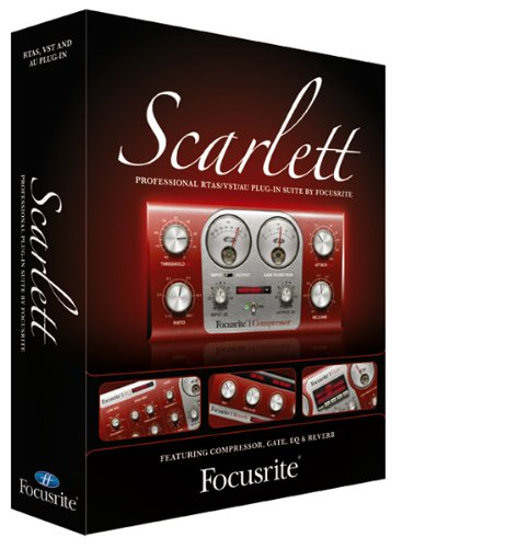 Focusrite Scarlett Plug-in Suite Of Compression,