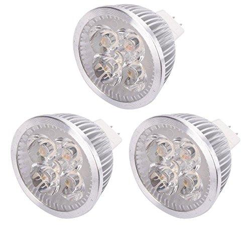 3x Spotlight Bulb New LED MR16 Warm White Light Lamp Energy Saving 4W 12V 3000K (Led H11 Headlight Bulb 20w compare prices)