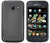 Mumbi Protective Case for Samsung Galaxy Ace 3 Transparent Black
