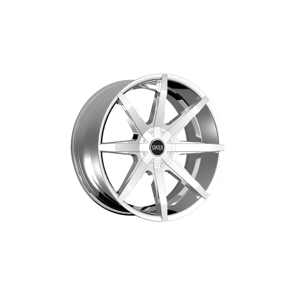 Status Spear 24 Chrome Wheel / Rim 6x135 & 6x5.5 with a 15mm Offset and a 106.1 Hub Bore. Partnumber S831QN6LM15C16